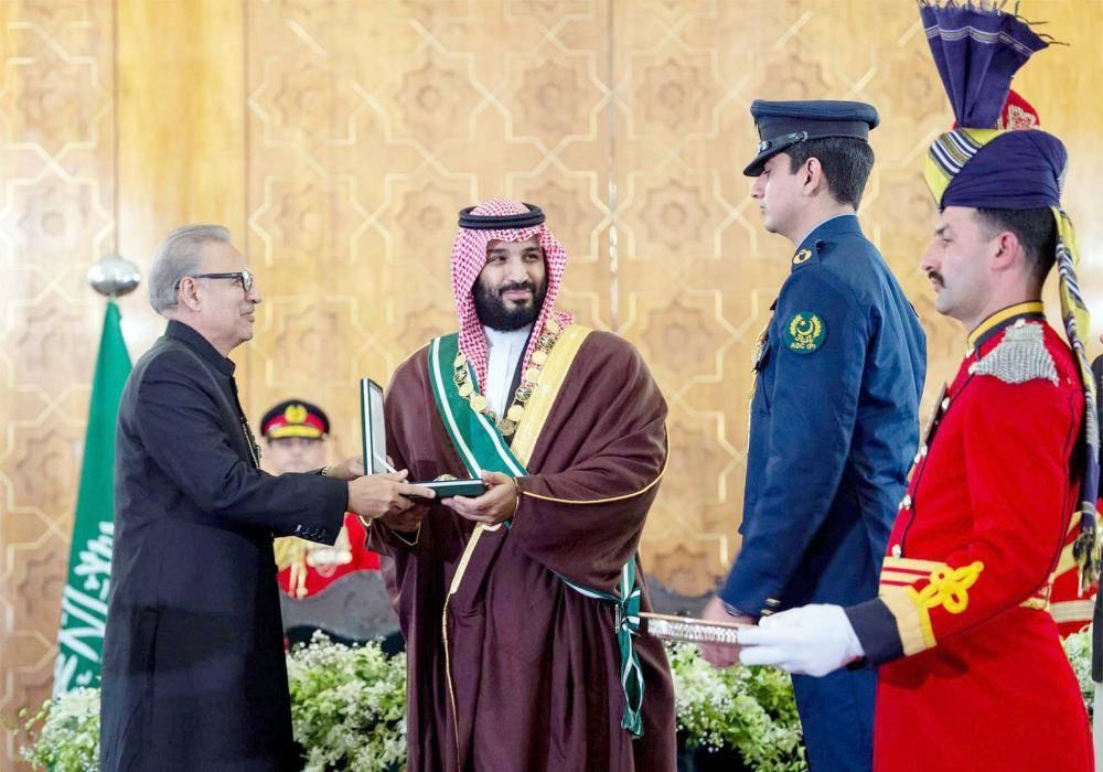 ولي العهد: العلاقات الأخوية مع باكستان ترتكز على مبدأ التضامن ...