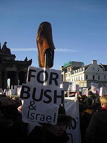 نتيجة بحث الصور عن بوش حذاء الزيدي