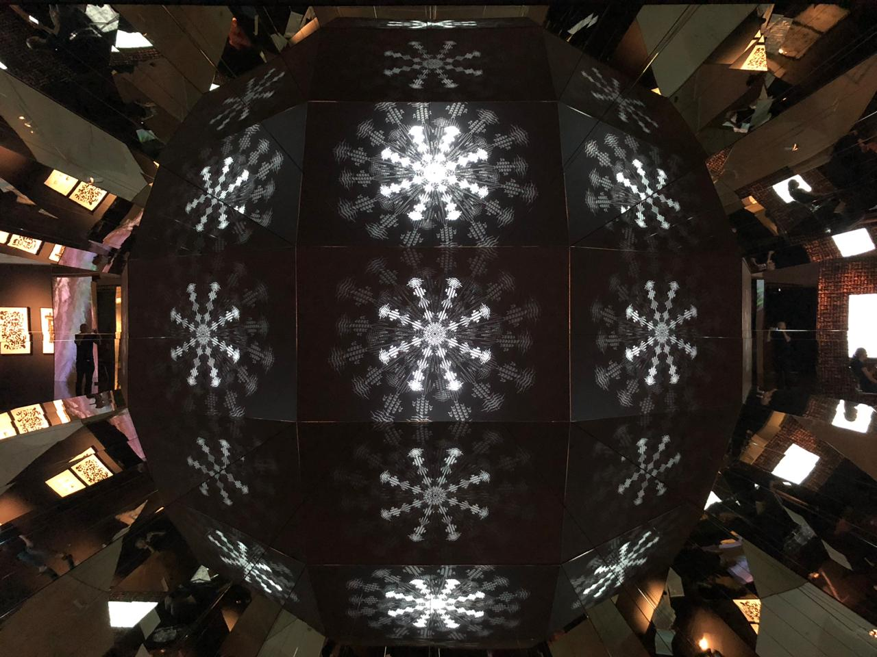 لولوة الحمود في معرض سان بطرسبورغ: الفن من ضرورات الحياة ...