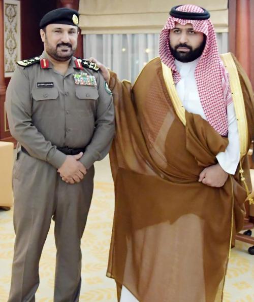 تواصل غامد الثقافي الإجتماعي » راشد بن سعيد الغامدي .. إلى رتبة عميد