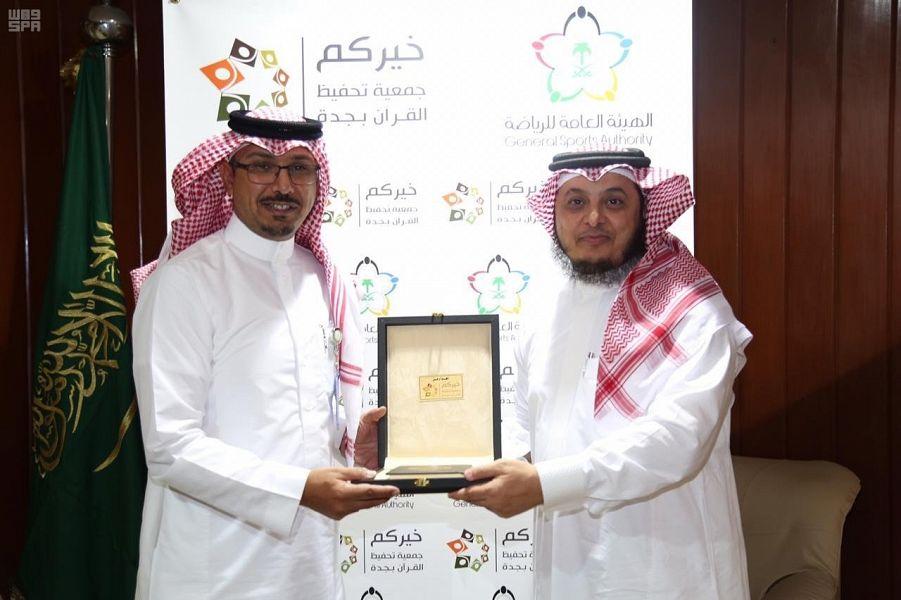 صورة سعيد محمد الغامدي مدير مكتب الهيئة العامة للرياضة بجدة