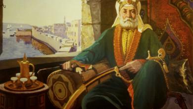 صورة المعتمد بن عباد.من ملك الى أسير.