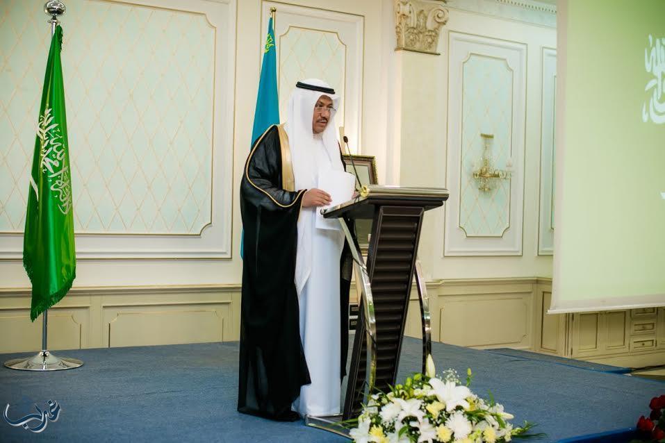 صورة سعادة السفير غرم سعيد الملحان الغامدي سفير المملكة لدى جمهورية جنوب أفريقيا