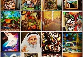 صورة الفنان التشكيلي المبدع عبدالله سرور اليامي
