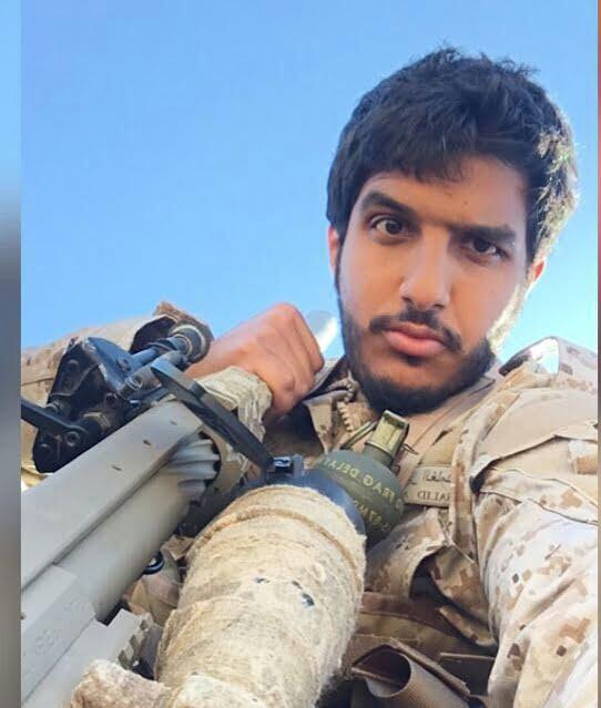 صورة ماذا قال الملازم خالد الغامدي بعد اصابته برصاصه على الحد الجنوبي
