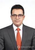 صورة المدير التنفيذي لشركة أس-أويل الغامدي لجائزة أفضل رجال الاعمال 2018 بكوريا