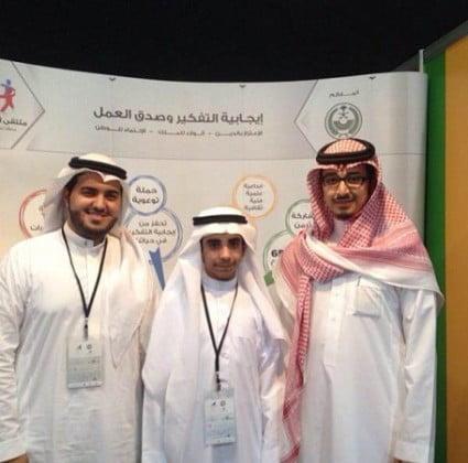 """صورة """"شباب مكة"""" يحتضنون موهبة الطالب أسامه الغامدي بالإلقاء والتقديم"""