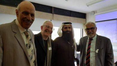 صورة د.عبدالوهاب بن محمد الغامدي. من جامعة لندن، دون أي تعديل حول «غريب القرآن»