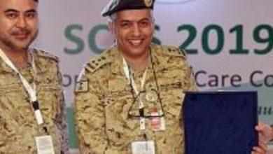 صورة عميد طبيب.عدنان بن ناصر الغامدي.مدينة سلطان الطبية العسكرية