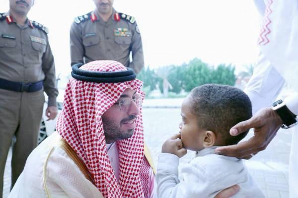 الأمير سعود بن جلوي مواسيا نجل الشهيد بدر السلمي.