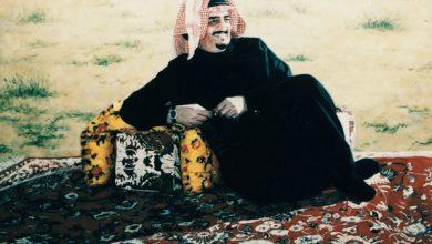 صورة الملك.فهد بن عبد العزيز آل سعود.داهية السياسة.أجبر القريب على حبه والبعيد على احترامه.يرحمه الله