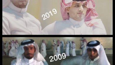 صورة شاعراء العرضة والنظم.الأخوين.خالد وفهد أبناء غنيم الغامدي.تميز وحضور لافت.