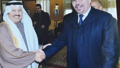 صورة د. فهد بن إبراهيم القاشي الغامدي.الملحق الثقافي بسفارة المملكة لدى الجزائر