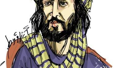 صورة عمرو بن كلثوم.شاعر عظيم وفارس شجاع متع سمعك بمعلقته الشهيرة صوتيا (فيديو)
