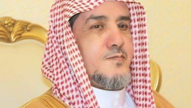 صورة فضيلة الشيخ.عبد الله حمود بن محمد الحمود الغامدي.رئيس المحكمة الجزائية بمنطقة تبوك.سابقا