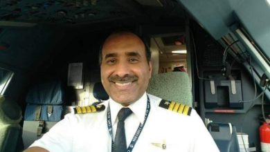 صورة كابتن طيار.علي بن محمد المانع الغامدي