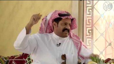 صورة السعودي مرزوق بن طعيميس..يقلد اخواننا الرشايده.ابداع كلاما وشعرا ورقصا