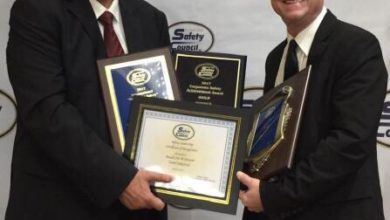 صورة م/عوض الغامدي يحصد جائزة التميز في السلامة والجائزة البرونزية من مجلس السلامة المتحد بأمريكا