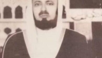 صورة الشيخ الجليل القاضي.جابر الطيب. يرحمه الله قصة عجيبة حكم فيها. تظهر حلمه وحكمته وعدله