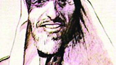 صورة محمد بن لعبون (النجدي) أمير شعراء النبط  بالخليج (الصدق يبقى والتصنف جهالة) تنقل  بين السعودية والعراق وتوفي بالكويت.
