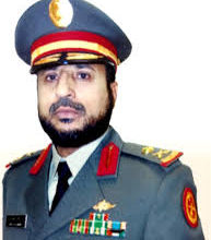 صورة سعادة اللواء ركن.عبيد أحمد عبيد الغامدي. رئيس هيئة الامدادات والتموين بقوات الدفاع الجوي.سابقا