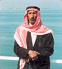 صورة عبد الرزاق بن سعيد الزهراني(أبو رزق) شاعر وحكيم وراوي جنوبي شهير