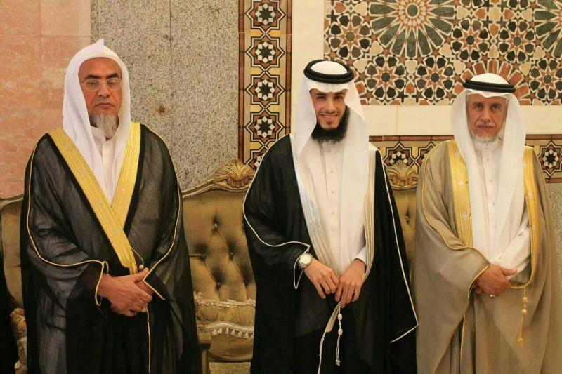 الباحة اليوم المهندس غرم الله مساعد الغامدي يحتفل بزواج الإبن مساعد -  الباحة اليوم