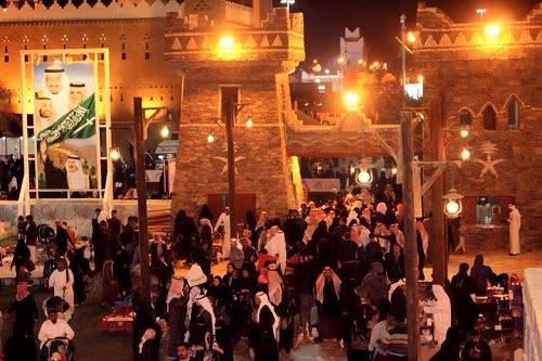 """قرية الباحة التراثية بالجنادرية"""" تشهد كثافة في الزوار – صحيفة خبر اليوم  الإلكترونية"""