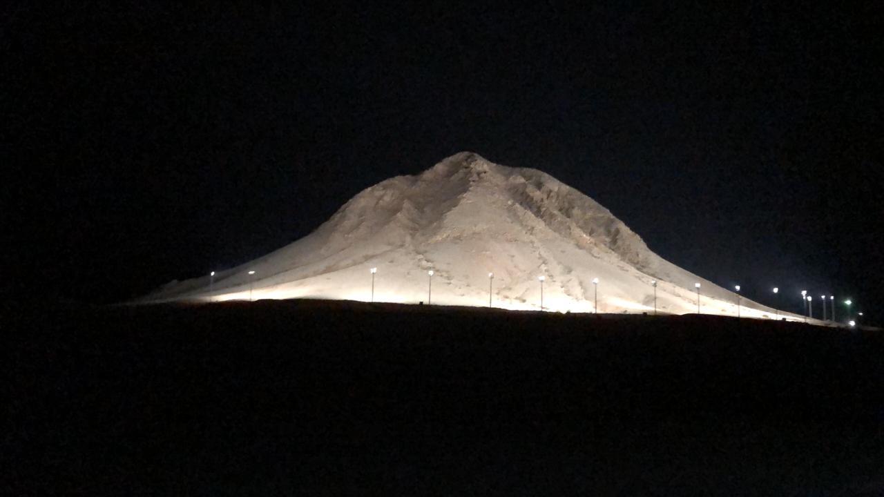 جبل الصايرة في بيشة - صحيفة شؤون الإلكترونية