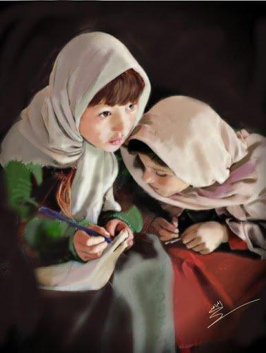عبداللطيف المجاهد رسام مبدع رغم أنها أصم وأبكم ( شاهد أعماله المدهشة) |  الوفاق نيوز