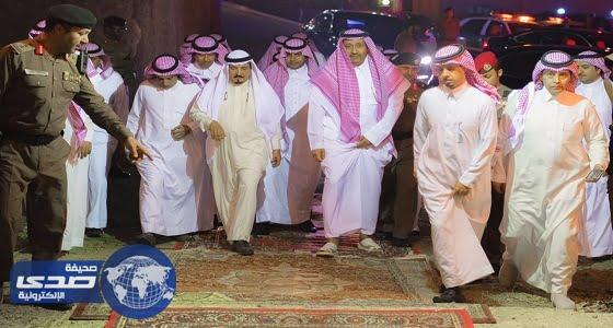 """بالصور.. أمير الباحة يزور مشروع """" العويفي """" السياحية"""